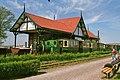 Smalspoorstoomtrein voor station Valkenburgse Meer (27333649386).jpg