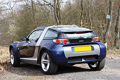 A Smart Roadster Coupé Convertible