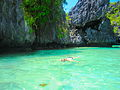Snorkeling in the Green Lagoon, Bacuit Bay.JPG