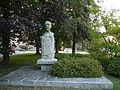 Socha Petra Bezruče, Místek.JPG