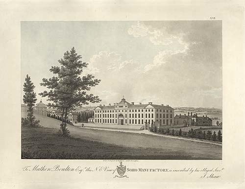 Soho Manufactory ca 1800