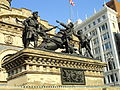 Soldiers' and Sailors' Monument (Cleveland), figures - DSC07870.JPG