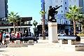 Soldiers statue Durrës Albania 2018 2.jpg