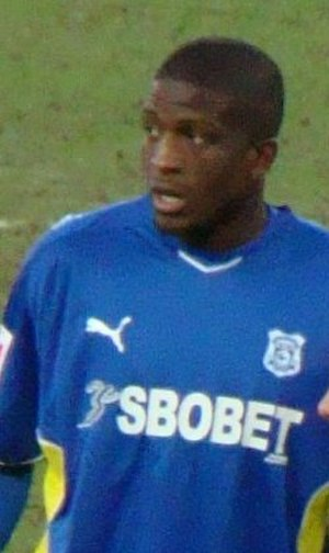 Solomon Taiwo - Taiwo playing for Cardiff City in 2010