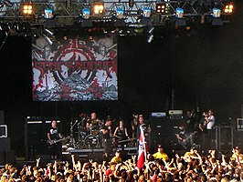 sonic syndicate op sweden rock festival 2008