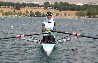 Soulmaz Abbasi - Soulmaz Abbasi at the 2012 Summer Olympics