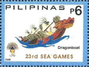 Traditional boat race at the 2005 Southeast Asian Games