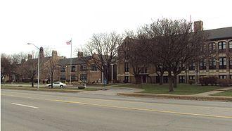 Southwestern High School (Michigan) - Image: Southwestern High School (Detroit)