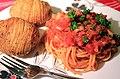 Spaghetti with Accordion Potato (6030946088).jpg