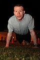 Spc. Reed Jaracz performs the Army Physical Fitness Test (7682508822).jpg