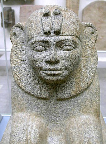 Sphinx of the Nubian Emperor Taharqa SphinxOfTaharqa.jpg