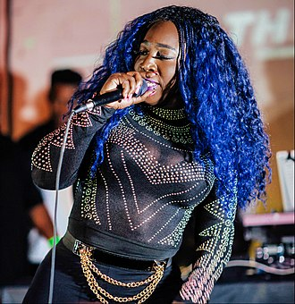 Spice (musician) - Spice performing in November 2016