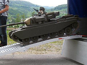 Model military vehicle - Remote controlled model of Centurion tank