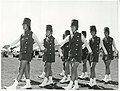 Sports - Marching Publicity Caption Broadway Bandoliers Marching Team from Marton, at Spriggins Park, Wanganui Photographer R Anderson.jpg