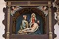 St. Blasius Regensburg Albertus-Magnus-Platz 1 D-3-62-000-24 63 Südliches Seitenschiff Plastik Beweinung Christi.jpg