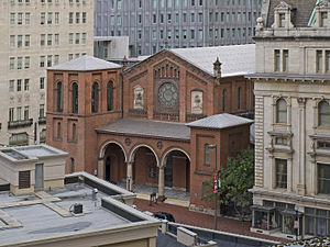 St. Paul's Episcopal Church (Baltimore, Maryland) - The aerial view