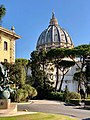 St. Peter's Basilica and Gardens of Vatican City (46747892632).jpg