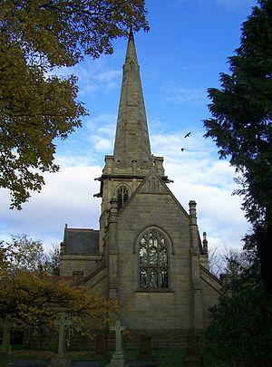 Arthur Brewill - St. John's Church, Colston Bassett