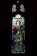 St Clement Church, stained glass window 01