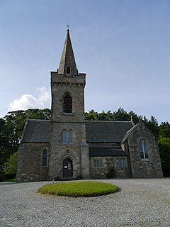 St Columbas Church, Strone Church in Scotland