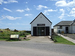 St Cyrus - Image: St Cyrus NNR Visitor's Centre