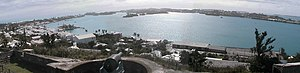 St. George's Harbour, Bermuda - St. George's Harbour, as seen from Fort George