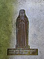 St Margaret's church - brass memorial - geograph.org.uk - 917151.jpg