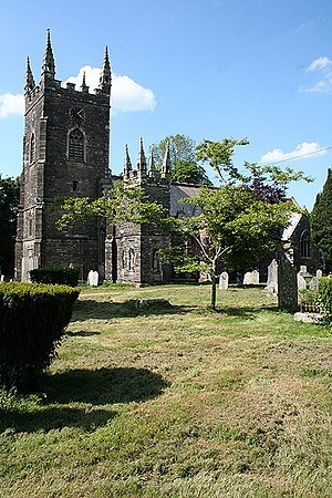 Werrington, Cornwall - St Martin's Church, Werrington