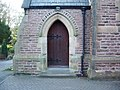 St Mary's Catholic Church, Euxton, Doorway - geograph.org.uk - 631540.jpg