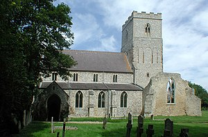 Flitcham, Norfolk - Image: St Mary, Flitcham, Norfolk