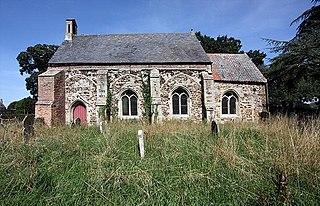 St Marys Church, Fordham Church in Norfolk, England