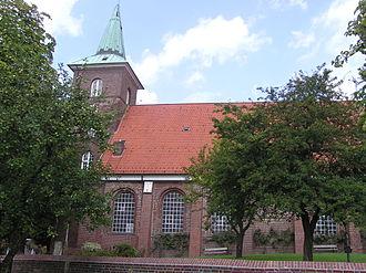 Neuenfelde - Image: St Pankratius P7250038