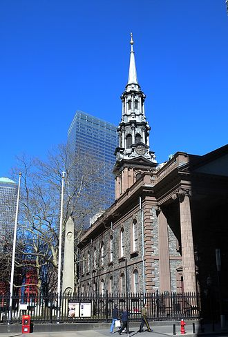 Episcopal Diocese of New York - St. Paul's Chapel.