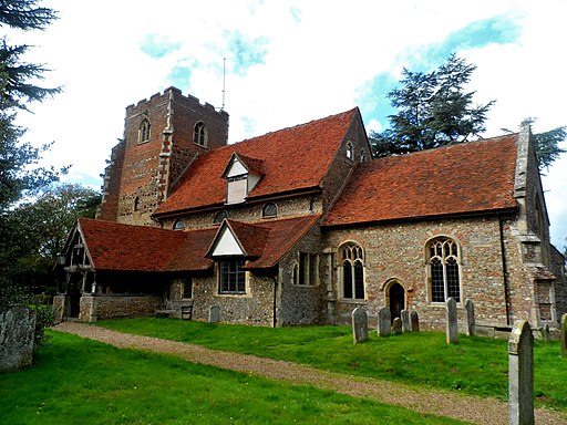 St Peters church, Boxted (geograph 4210405)