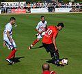 Stade rennais vs USM Alger, July 16th 2016 - Meftah Beldjilali Gourcuff.jpg