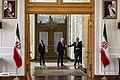 Staffan de Mistura meet with Sadegh Hosein Jaberi Ansari Spokesperson for the Ministry of Foreign Affairs of Iran 03.jpg