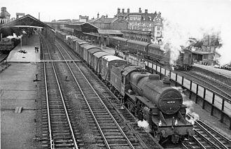 Stafford railway station - Image: Stafford 4 railway station geograph 2165906