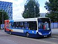 Stagecoach Enviro NK11 BGX 27739 - Greenwich Academy gymnasts training facility (7721544420).jpg