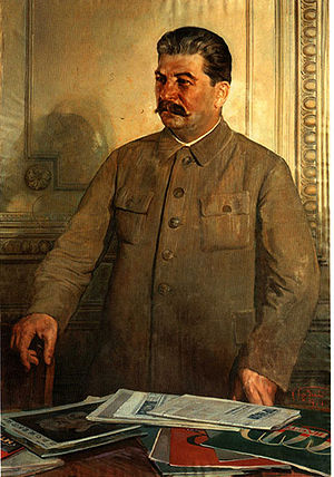 Central Committee of the Communist Party of the Soviet Union - Under Stalin (pictured) the Central Committee lost effective control over policymaking.