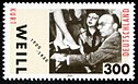 Stamp Germany 2000 MiNr2100 Kurt Weill.jpg
