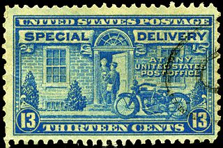 Express mail in the United States