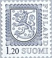 Stamp of Finland - 1979 - Colnect 46865 - 1 - Coat of Arms - Type I - 11¾.jpeg