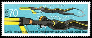 Underwater orienteering Underwater compass navigation and speed competition on scuba.