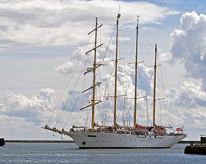 Star Flyer - Star Flyer also seen in Ystad, Sweden on 12 August 2013.
