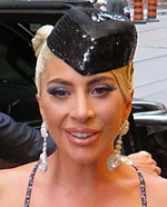 Photo of Lady Gaga in 2018.