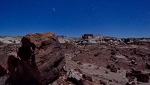 File:Stars in in Petrified Forest National Park.webm