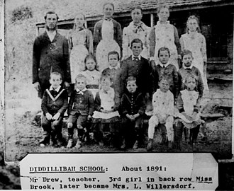 Diddillibah, Queensland - Students at Diddillibah Provisional School, circa 1891