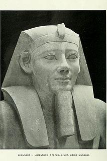 Senusret I pharaoh of Egypt
