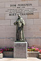 Statue of Dom Pérignon at Moët & Chandon (8132642467).jpg