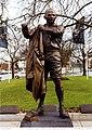 Statue of Sir Albert Coates in Ballarat, Victoria.jpg